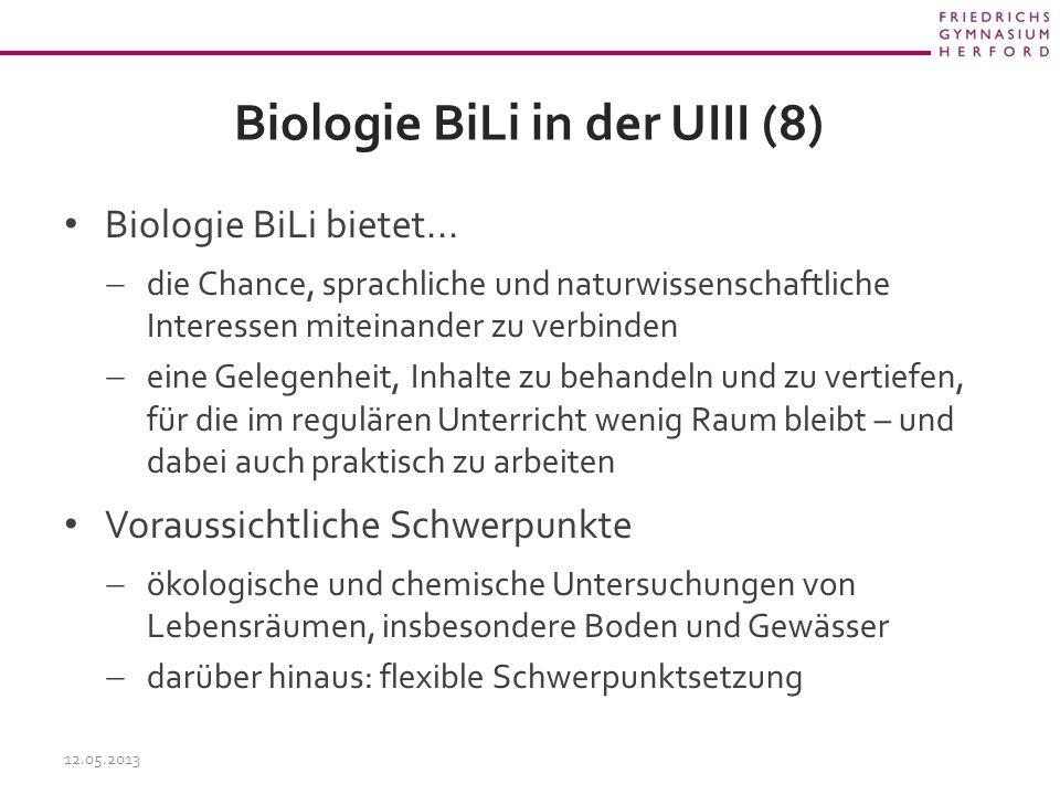 Biologie BiLi in der UIII (8)
