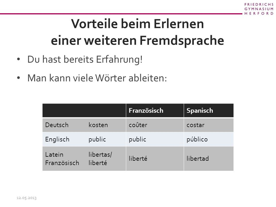 Vorteile beim Erlernen einer weiteren Fremdsprache