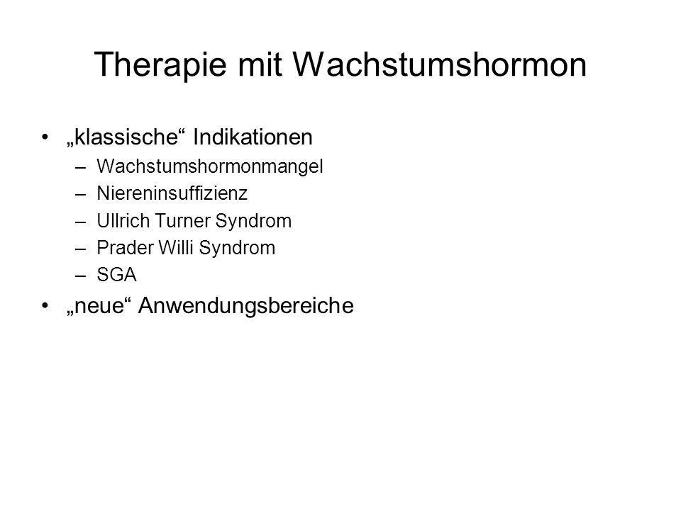 Therapie mit Wachstumshormon