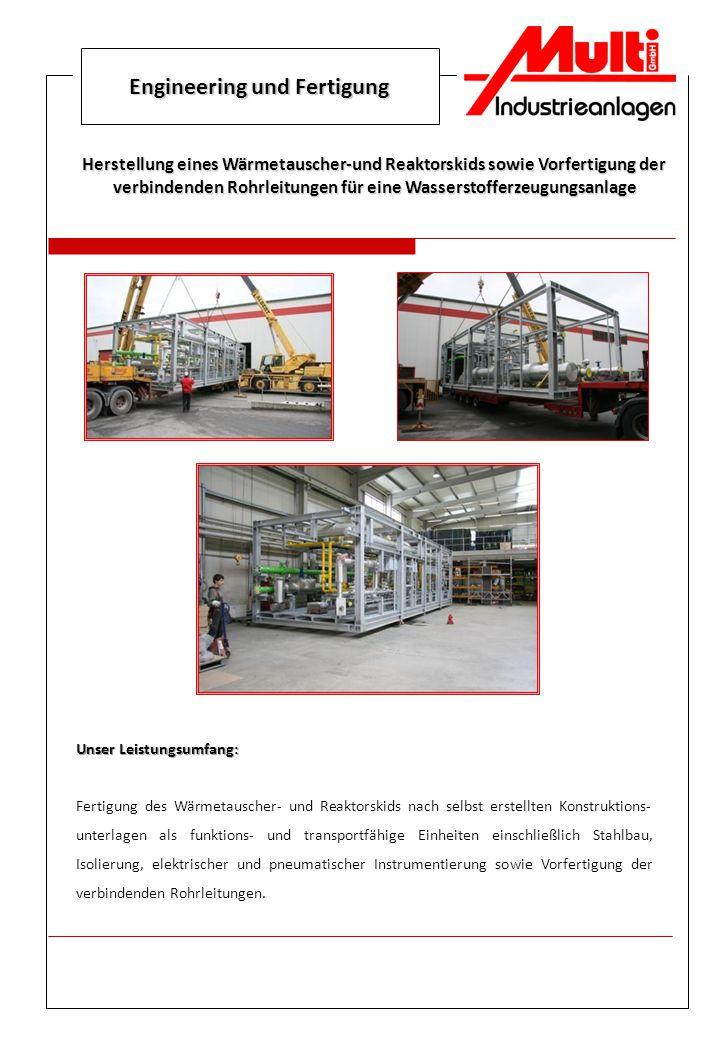 Engineering und Fertigung
