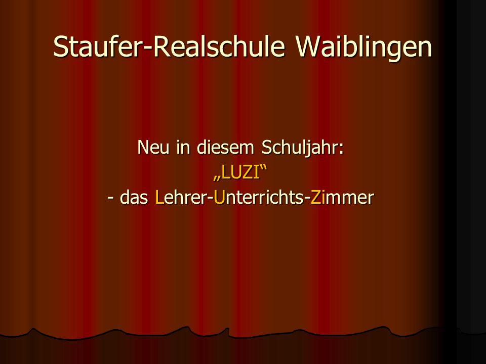 Staufer-Realschule Waiblingen