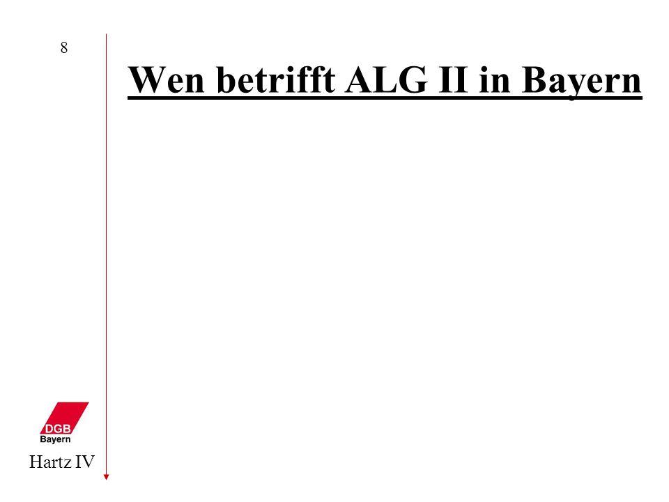 Wen betrifft ALG II in Bayern