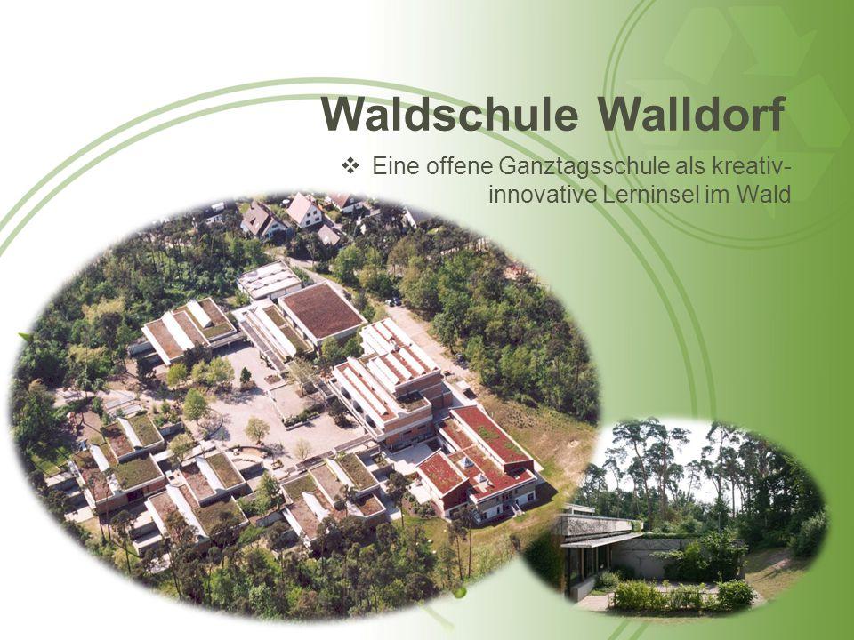 Waldschule Walldorf Eine offene Ganztagsschule als kreativ-innovative Lerninsel im Wald