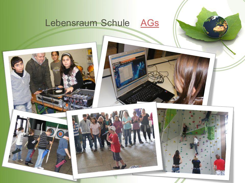 Lebensraum Schule AGs