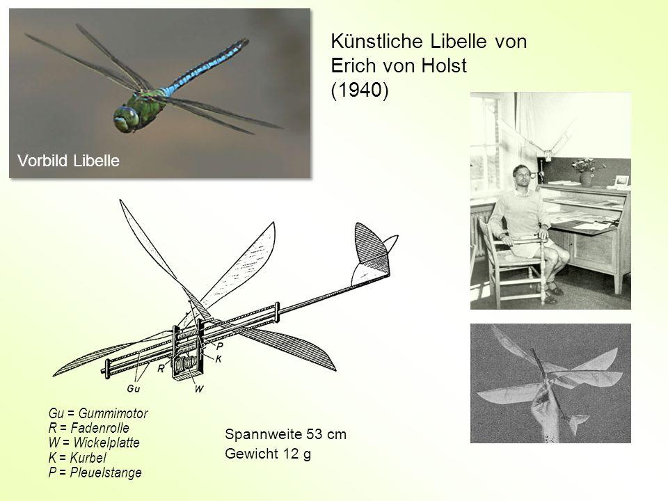 Künstliche Libelle von Erich von Holst (1940)
