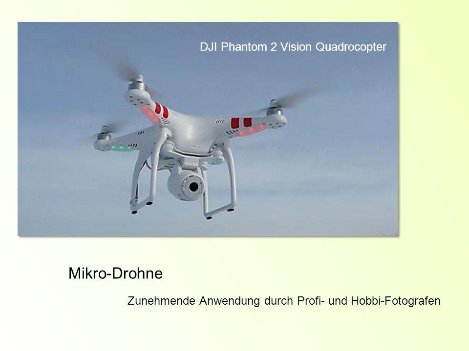 Mikro-Drohne DJI Phantom 2 Vision Quadrocopter