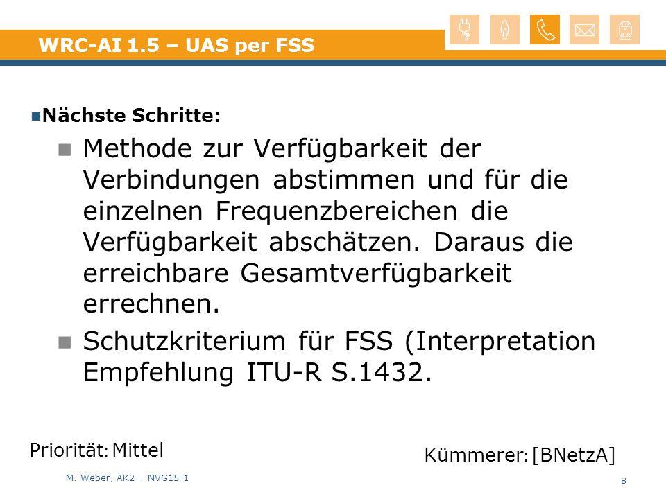 Schutzkriterium für FSS (Interpretation Empfehlung ITU-R S.1432.