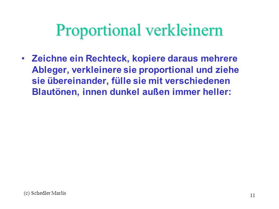 Proportional verkleinern