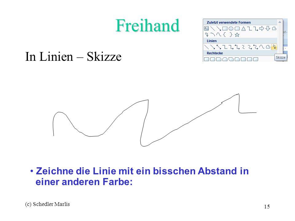 Freihand In Linien – Skizze