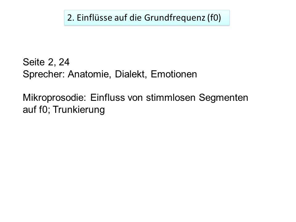 2. Einflüsse auf die Grundfrequenz (f0)