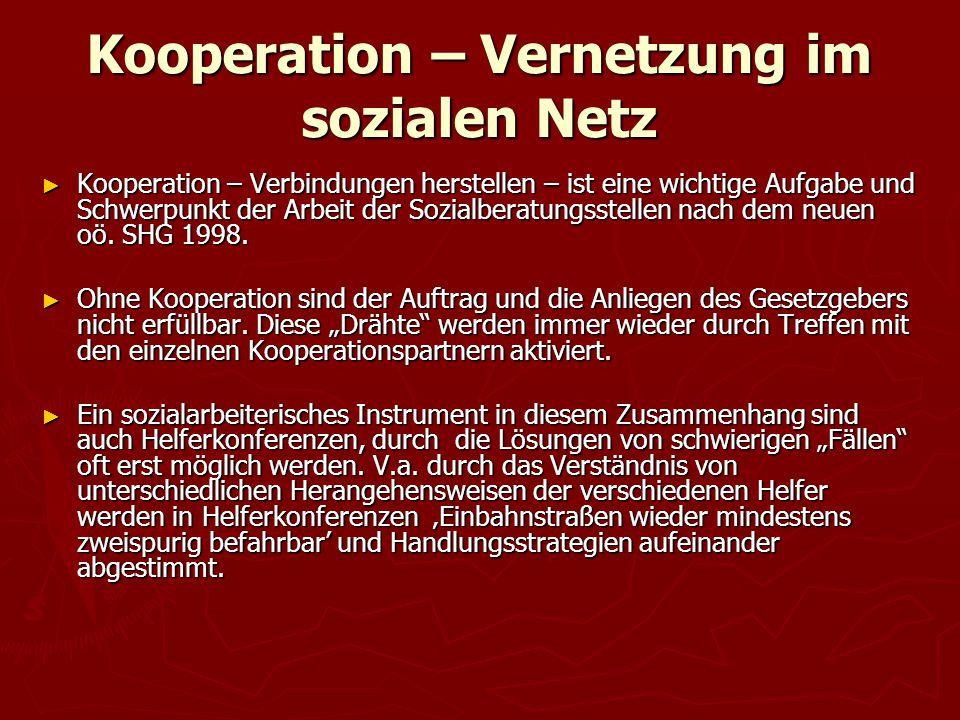 Kooperation – Vernetzung im sozialen Netz