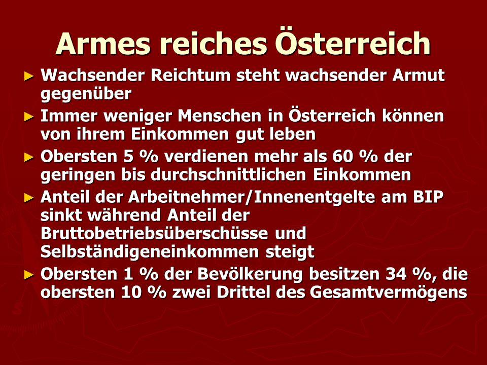 Armes reiches Österreich