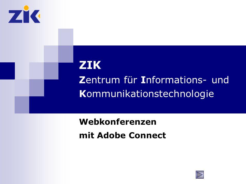 ZIK Zentrum für Informations- und Kommunikationstechnologie