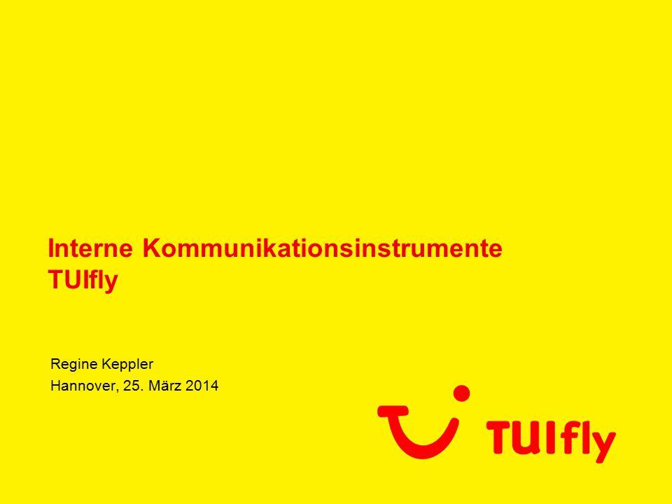 Interne Kommunikationsinstrumente TUIfly