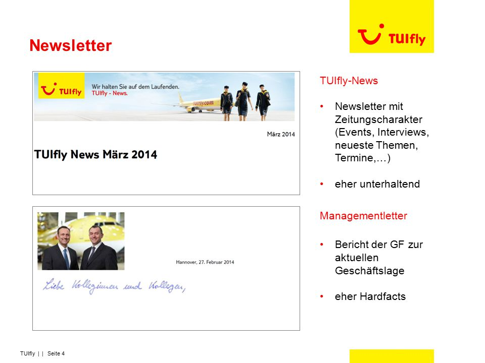 Newsletter TUIfly-News