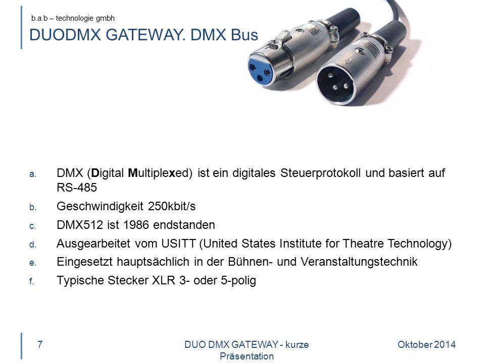 DUO DMX GATEWAY - kurze Präsentation
