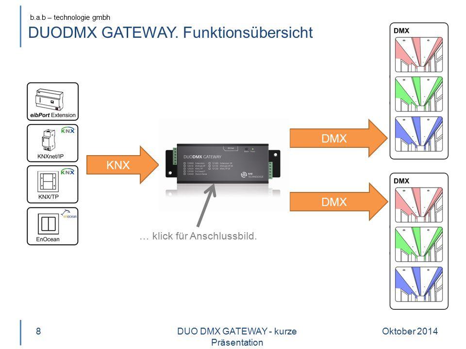 DUODMX GATEWAY. Funktionsübersicht