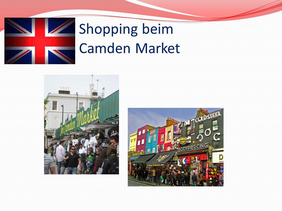 Shopping beim Camden Market