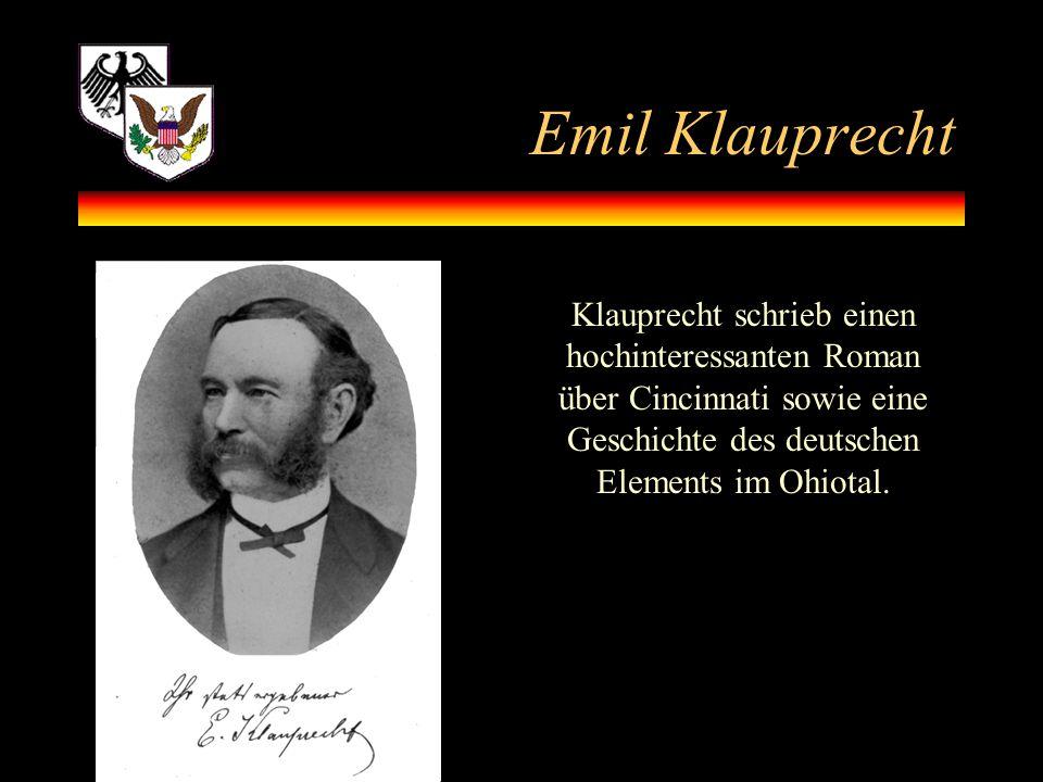 Emil Klauprecht.
