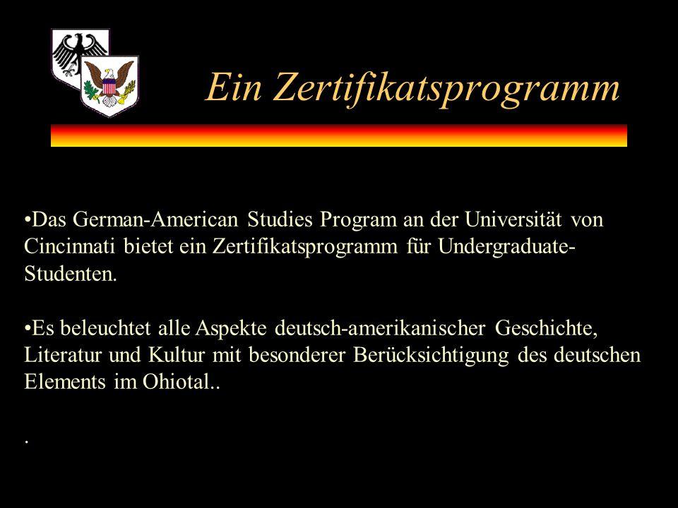 Ein Zertifikatsprogramm