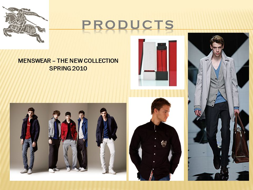 MENSWEAR – THE NEW COLLECTION SPRING 2010