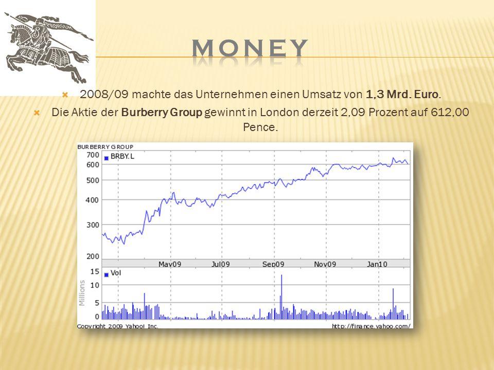 2008/09 machte das Unternehmen einen Umsatz von 1,3 Mrd. Euro.