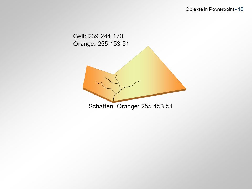 Gelb:239 244 170 Orange: 255 153 51 Schatten: Orange: 255 153 51