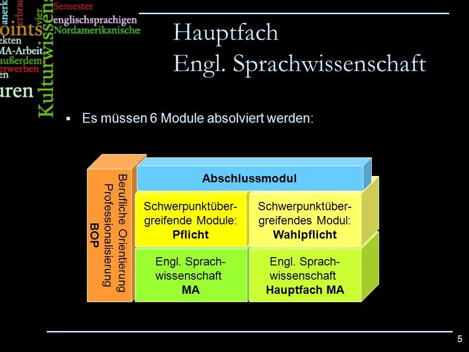 Engl. Sprachwissenschaft