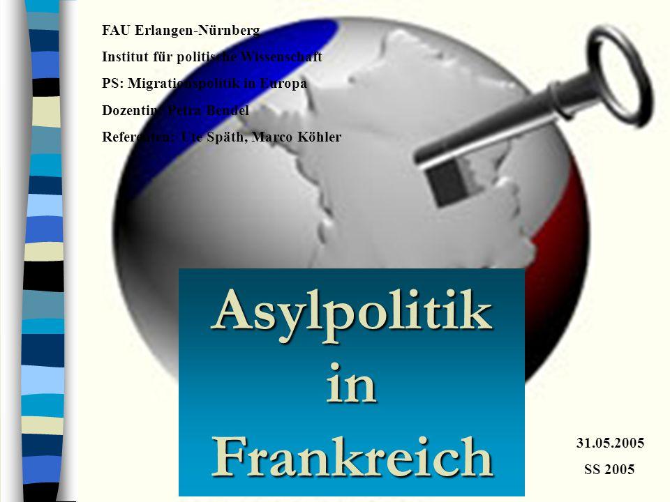 Asylpolitik in Frankreich