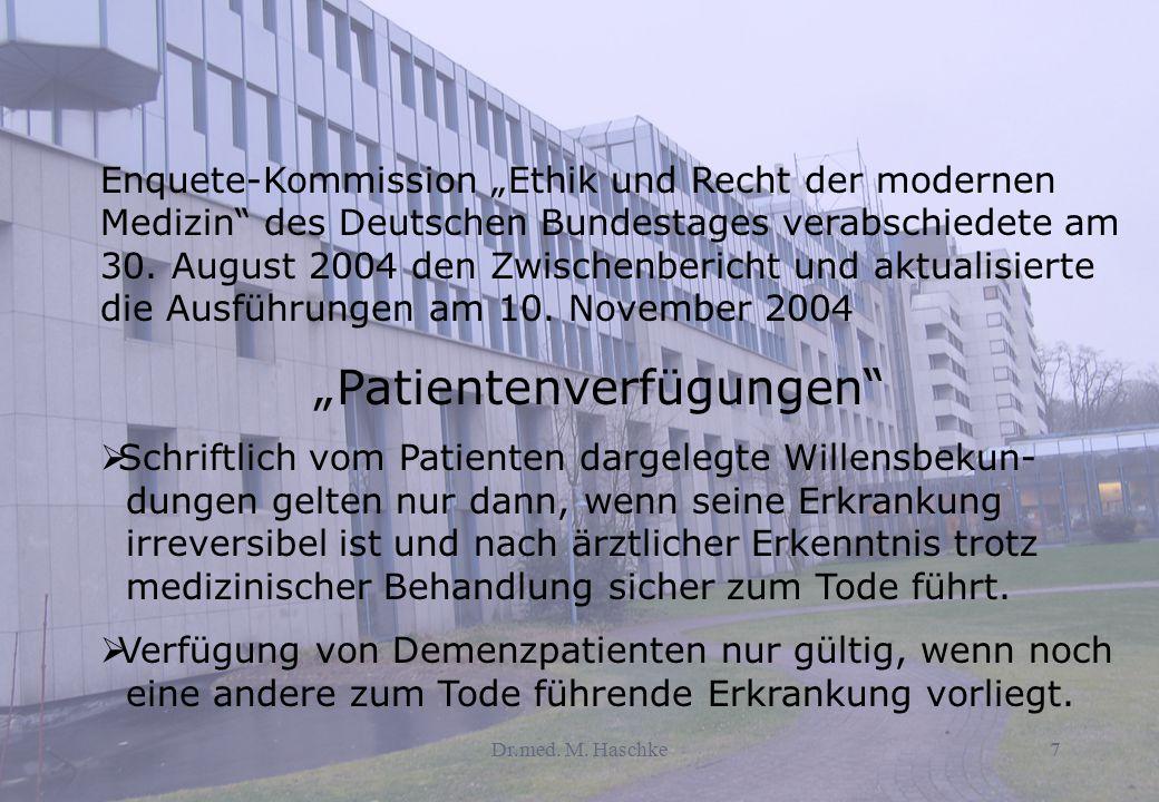 """""""Patientenverfügungen"""