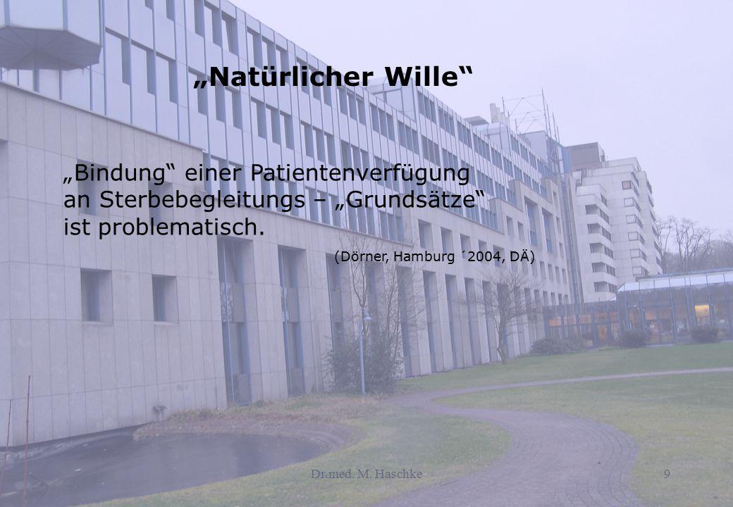 """""""Natürlicher Wille"""