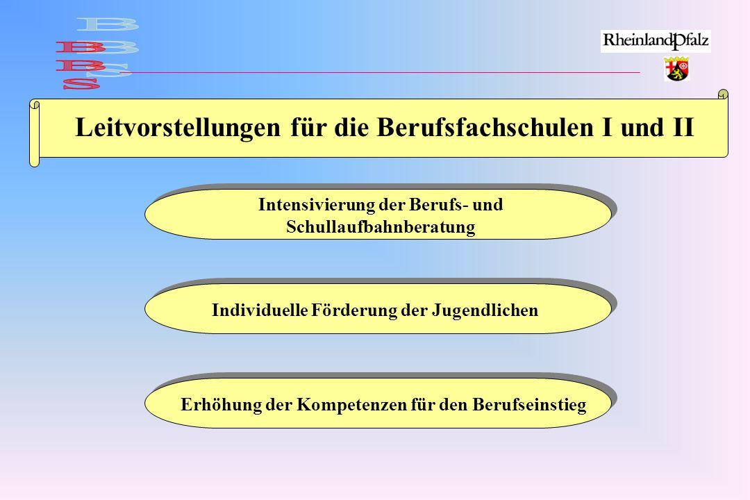 BBS Leitvorstellungen für die Berufsfachschulen I und II