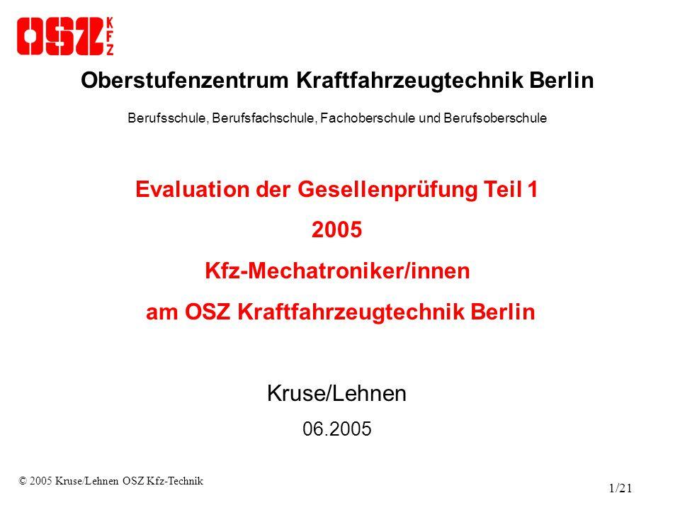 Oberstufenzentrum Kraftfahrzeugtechnik Berlin