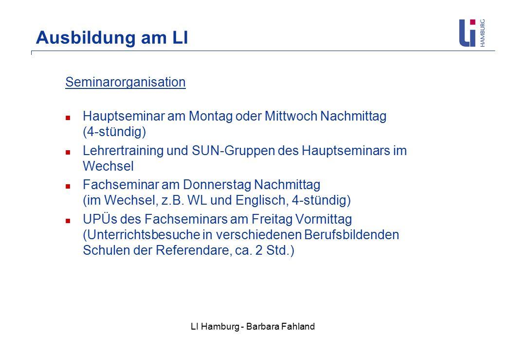 LI Hamburg - Barbara Fahland