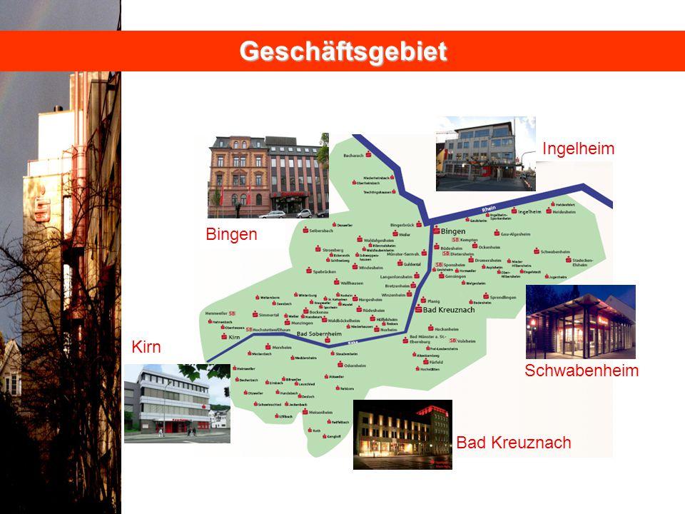 Geschäftsgebiet Ingelheim Bingen Kirn Schwabenheim Bad Kreuznach