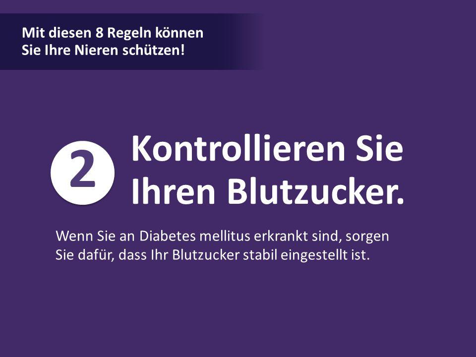 Mit diesen 8 Regeln können Sie Ihre Nieren schützen!