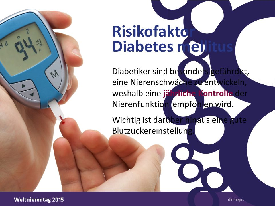 Risikofaktor Diabetes mellitus