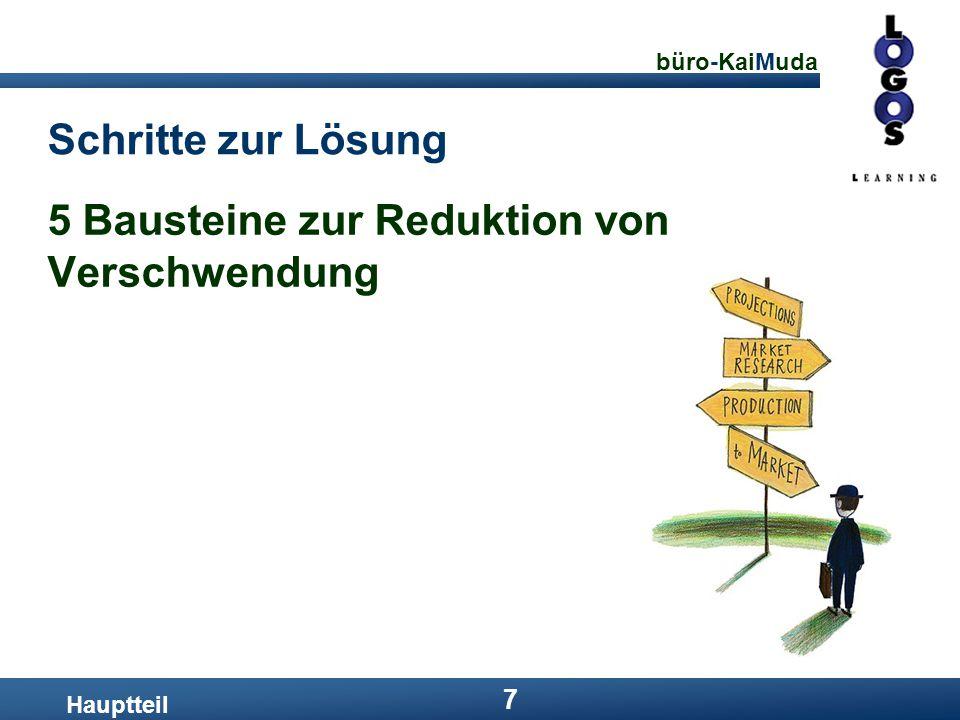 5 Bausteine zur Reduktion von Verschwendung