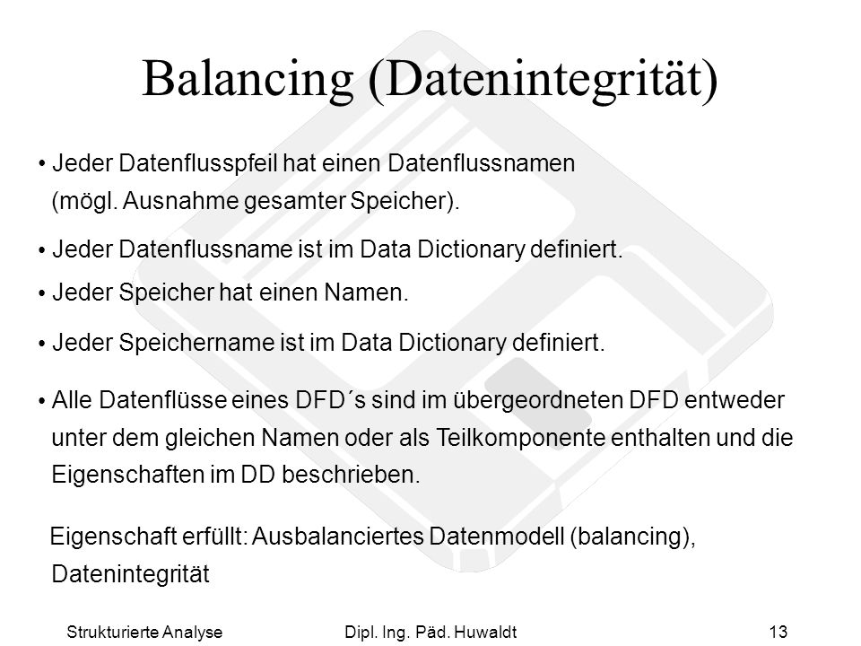 Balancing (Datenintegrität)