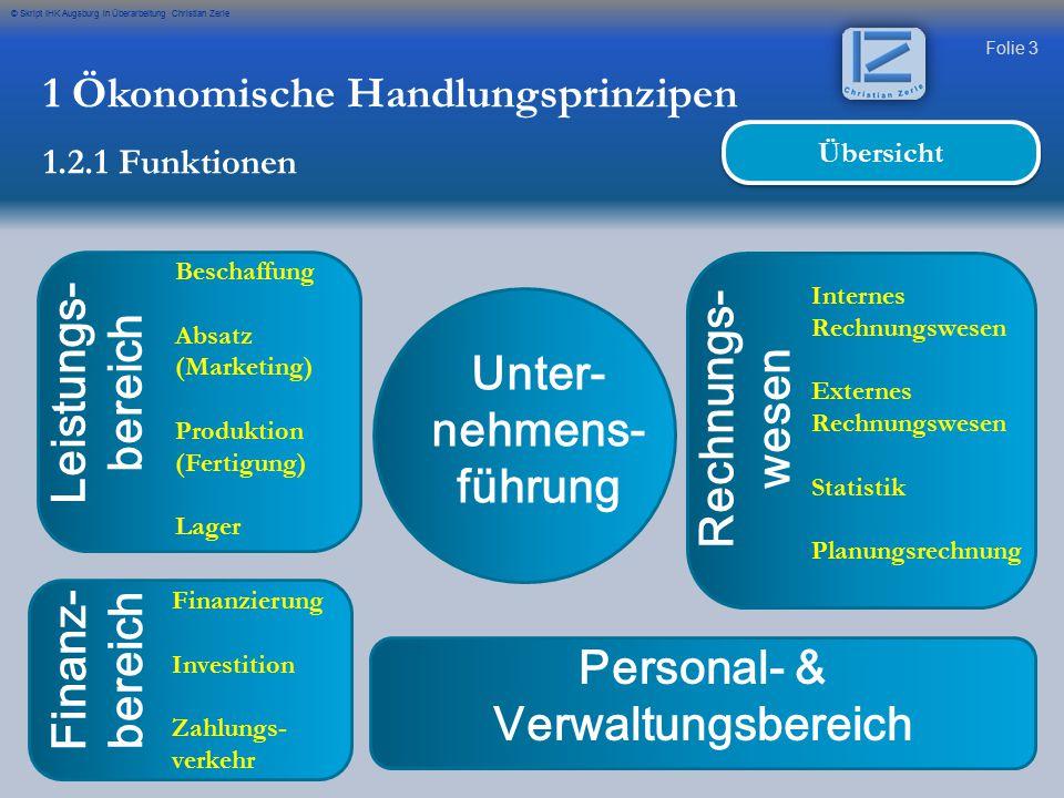 Personal- & Verwaltungsbereich