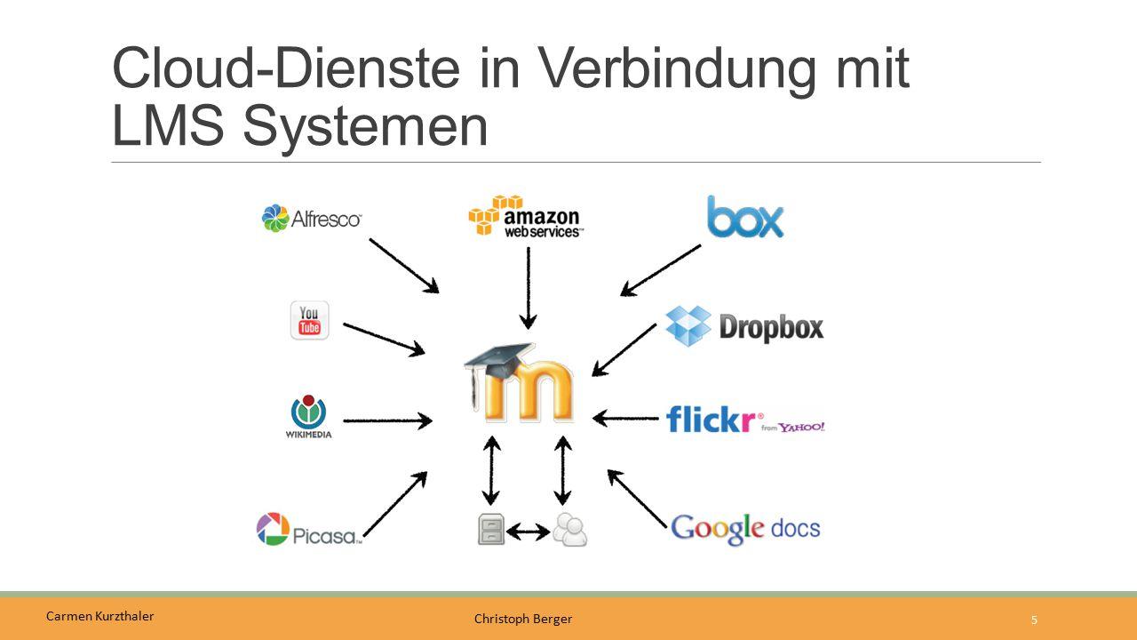 Cloud-Dienste in Verbindung mit LMS Systemen
