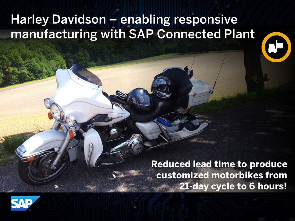 Harley Davidson – enabling responsive manufacturing with SAP Connected Plant