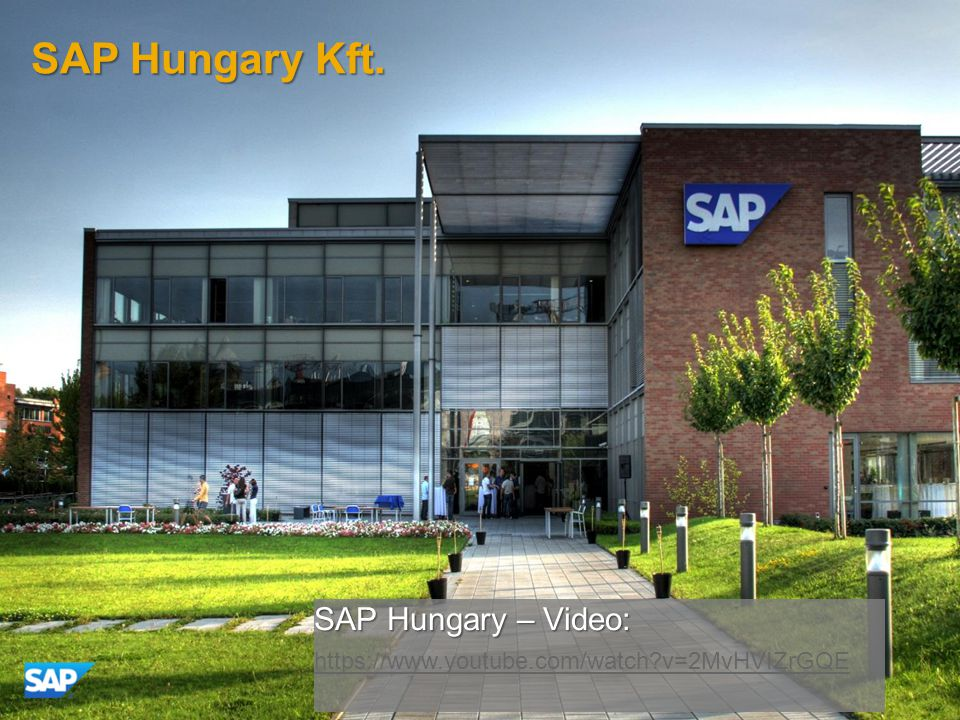 SAP Hungary Kft. SAP Hungary – Video: