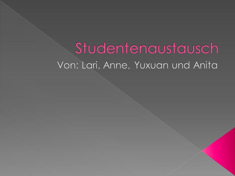 Von: Lari, Anne, Yuxuan und Anita