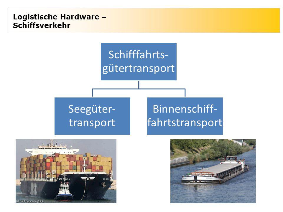 Schifffahrts-gütertransport