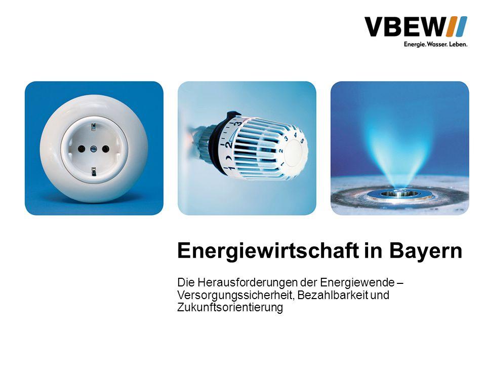 Energiewirtschaft in Bayern