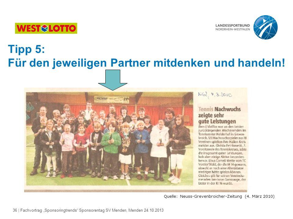 Quelle: Neuss-Grevenbroicher-Zeitung (4. März 2010)