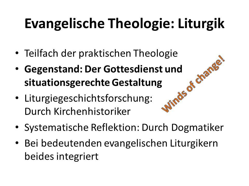 Evangelische Theologie: Liturgik