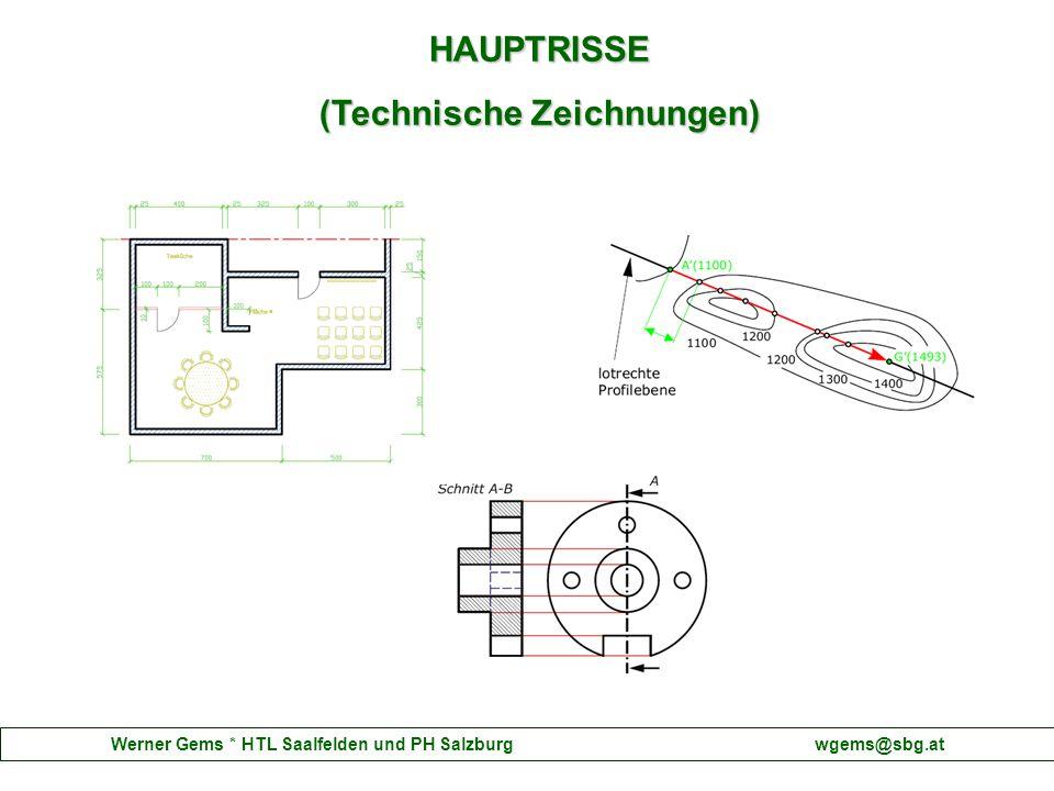 HAUPTRISSE (Technische Zeichnungen)