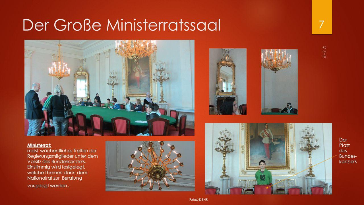 Der Große Ministerratssaal